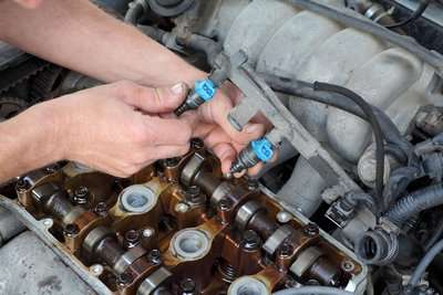 Fuel Injector Cleaning at Eagle Automotive Service in Littleton